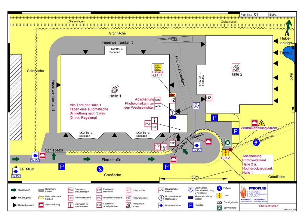 Erstellservice Feuerwehrplan Ubersichtsplan 13